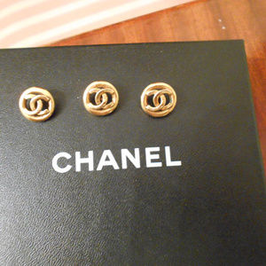 Authentic Gold CHANEL Buttons